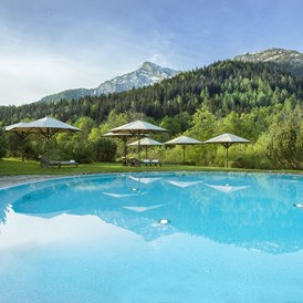 Luxushotel: Kempinski The Spa Outdoor Pool - Kempinski Hotel Berchtesgaden