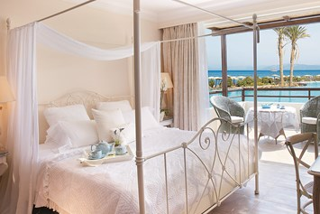 Luxushotel: Deluxe Bungalow Suite Schlafzimmer - Grecotel Kos Imperial