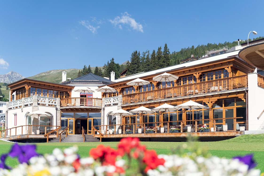 Luxushotel: Kulm Country Club - Kulm Hotel St. Moritz