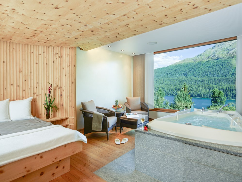 Luxushotel: Private Spa Suite - Kulm Hotel St. Moritz